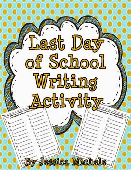 http://www.teacherspayteachers.com/Product/FREEBIELast-Day-of-School-Writing-Activity-699594